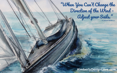 Change Direction by Adjusting Your Sails